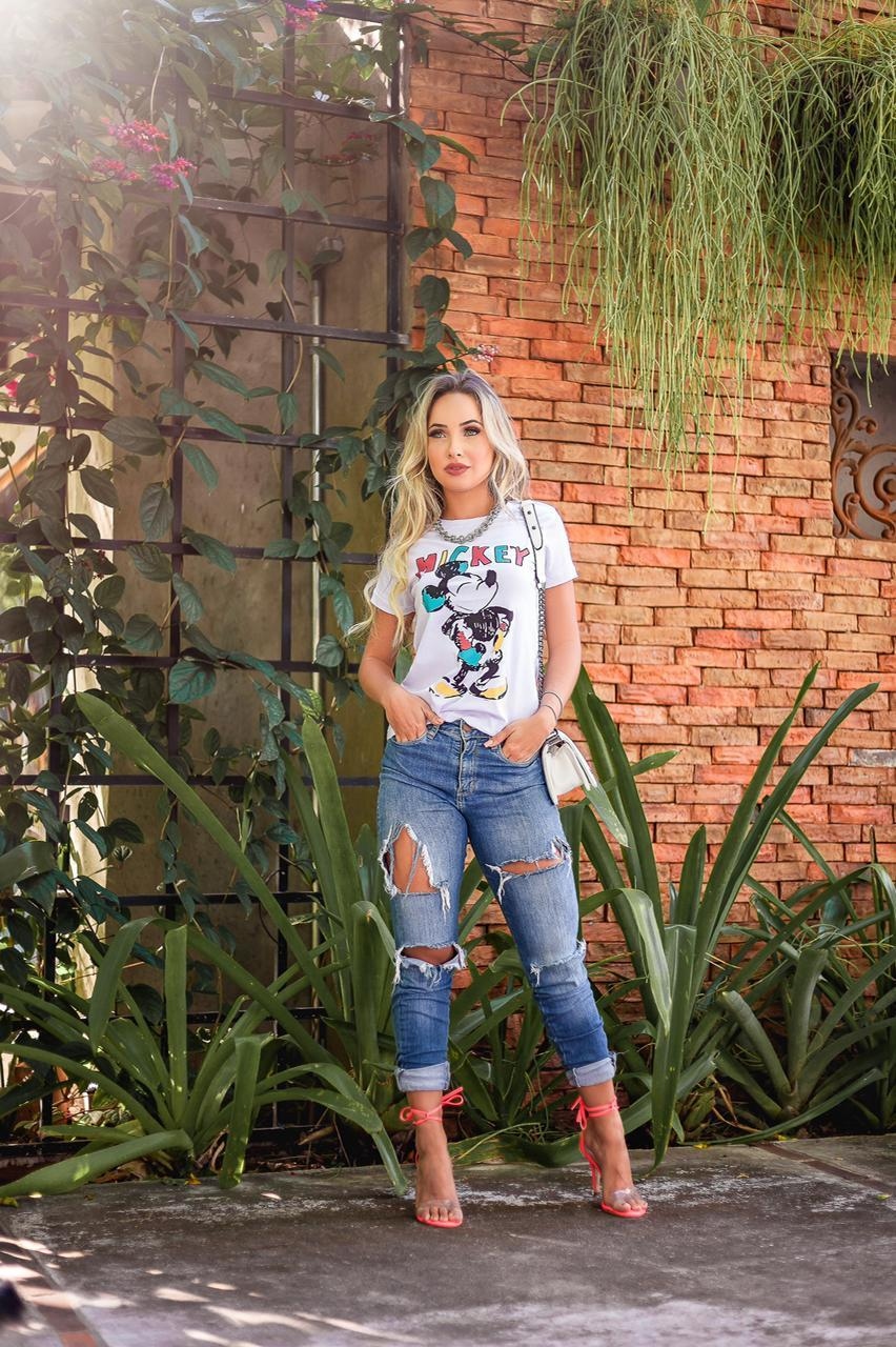 Diniz T-shirts feminina - Mickey