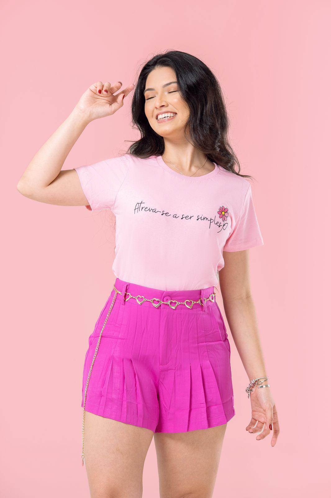 Diniz T-shirts feminina - Atreva-se a ser simples