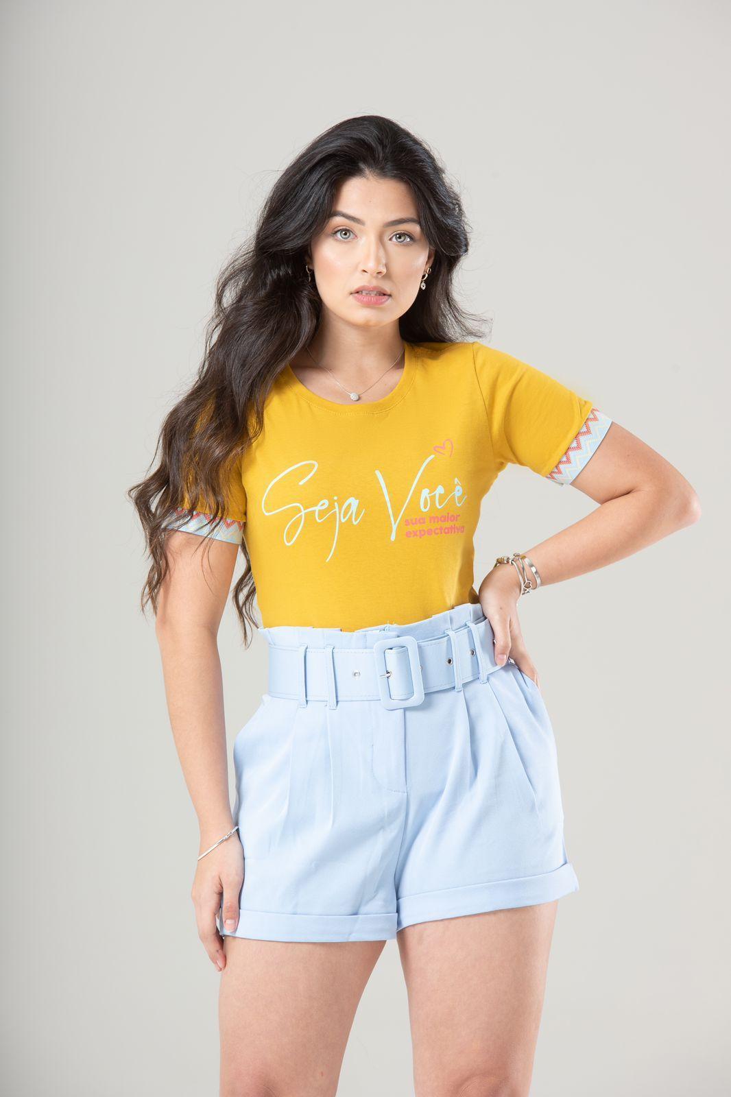 Diniz T-shirts feminina - Seja você