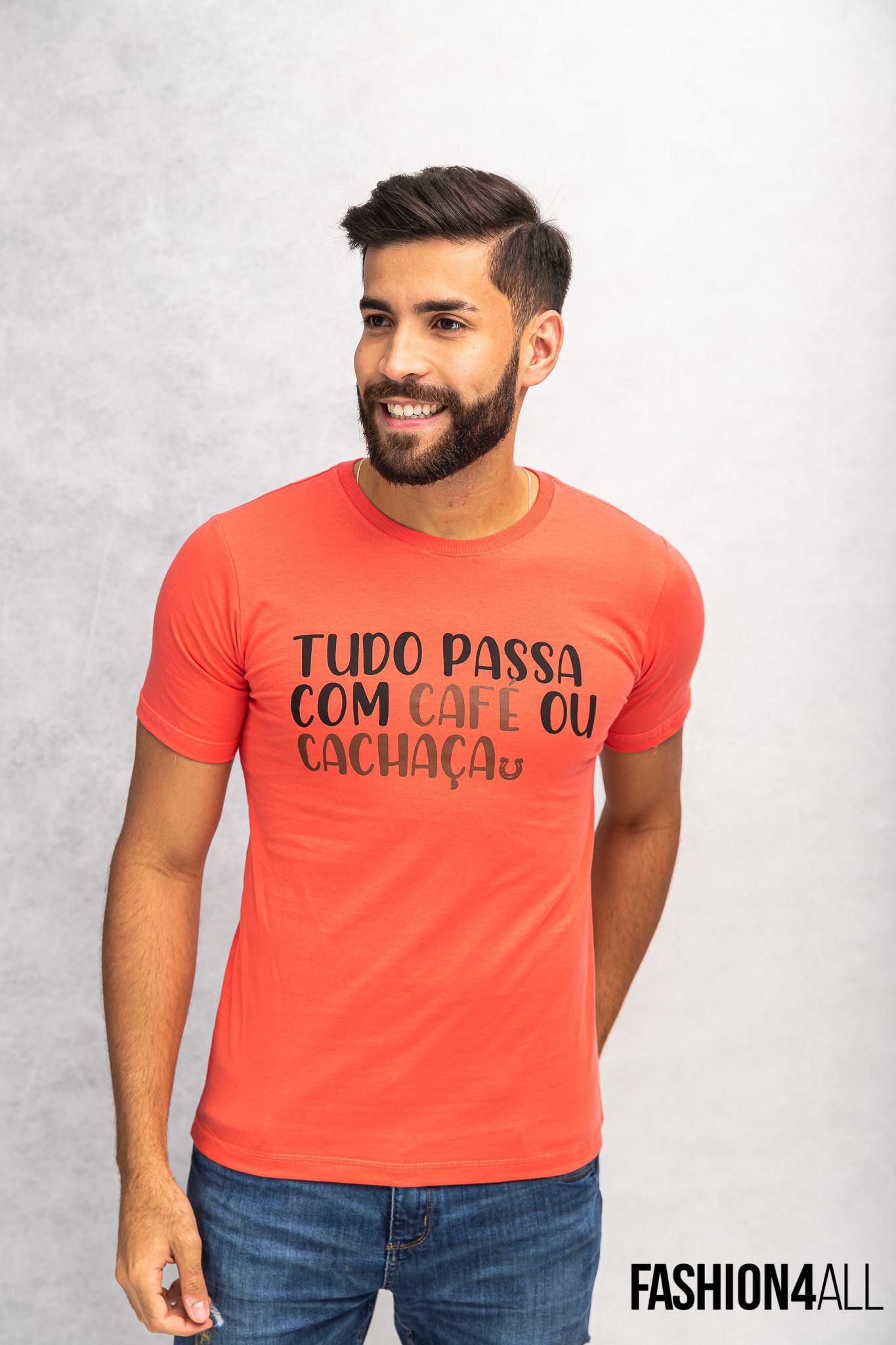"""GOLA CARECA """" TUDO PASSA COM CAFÉ OU CACHAÇA"""" BALAÚ"""