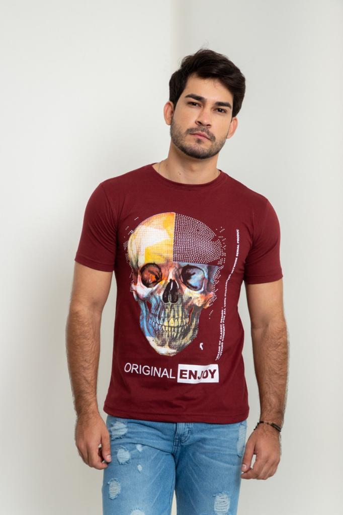 T-shirt caveira  RCR Original clothing