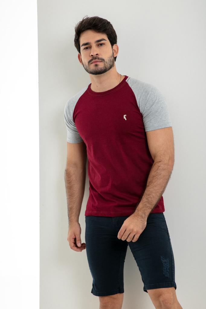T-shirt  raglan básica  RCR Original clothing