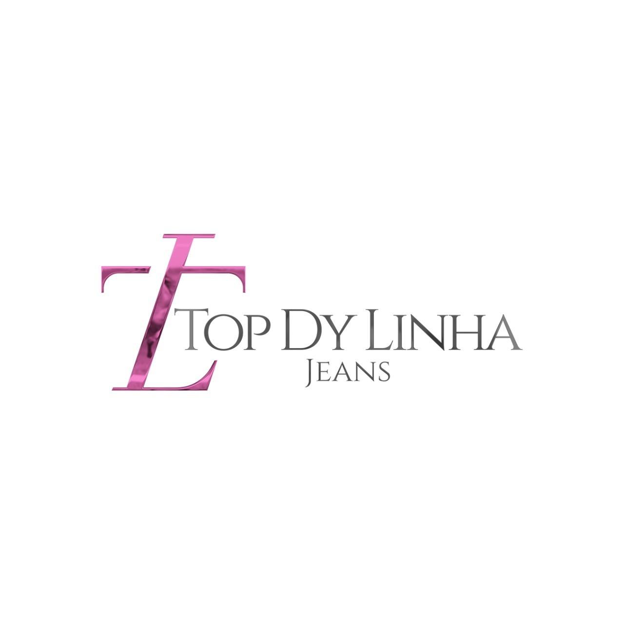 Top Dy Linhas Jeans