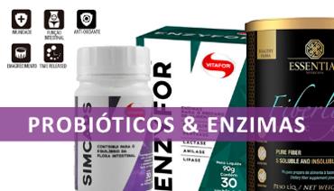 Probióticos e Enzimas