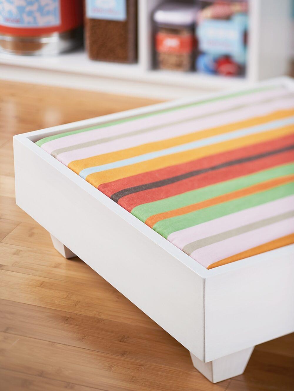 DIY pet bed project