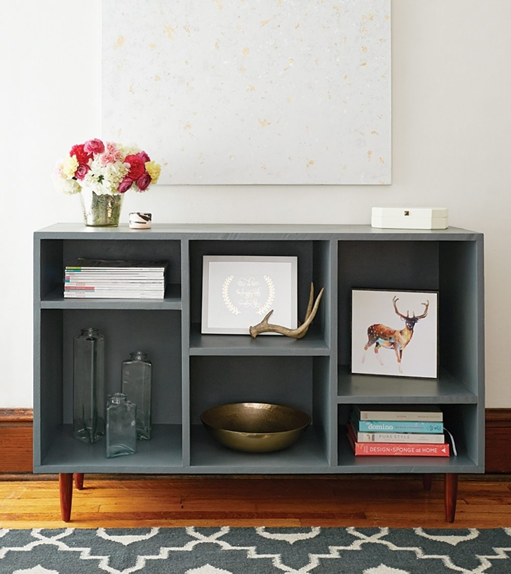 Premade cuts at the hardware store make this do-it-yourself unit simple enough to assemble in an afternoon.