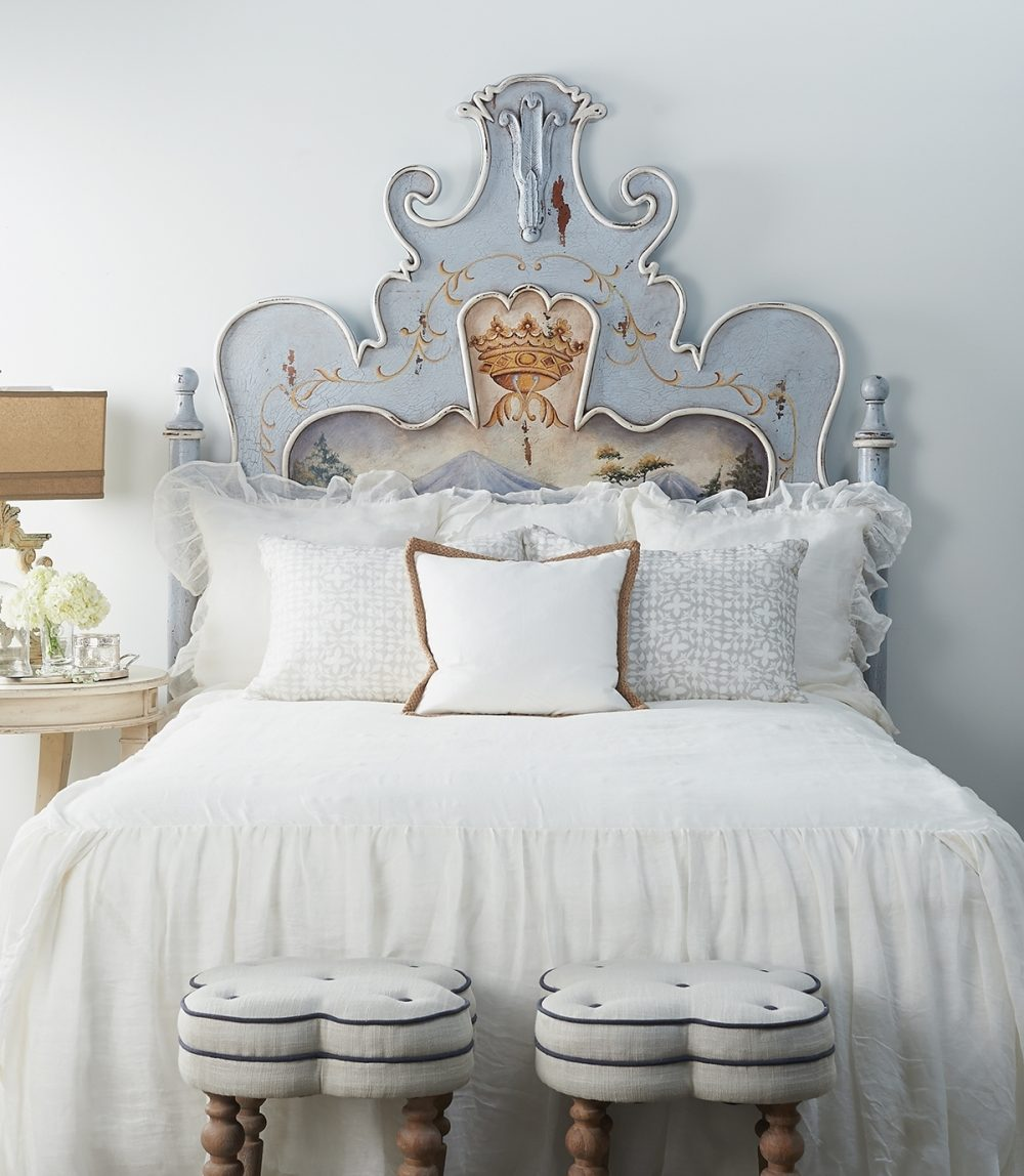 A bedroom and bed designed for quality sleeping and healthy habits encourage rest and putting your trust in the Lord.