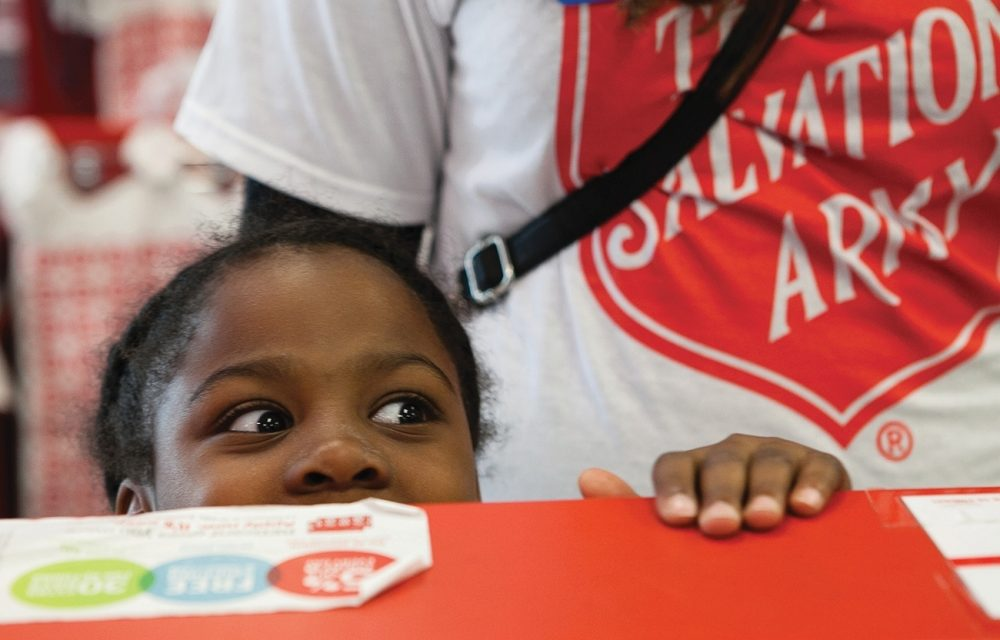 """Knowing that Jesus said, """"The Kingdom belongs to such as these,"""" the Salvation Army is committed to reaching children with the transforming message of Jesus."""