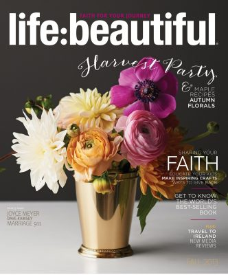 Cover of Life:Beautiful magazine Fall 2013