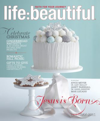 Cover of Life:Beautiful magazine Holiday 2011