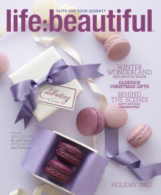 Cover of Life:Beautiful magazine Holiday 2012