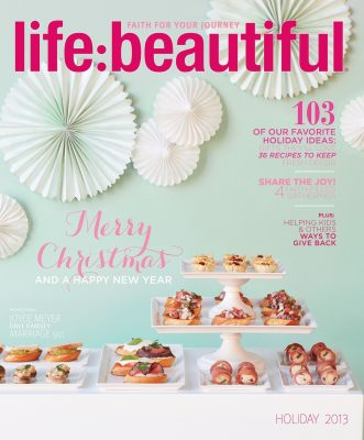 Cover of Life:Beautiful magazine Holiday 2013