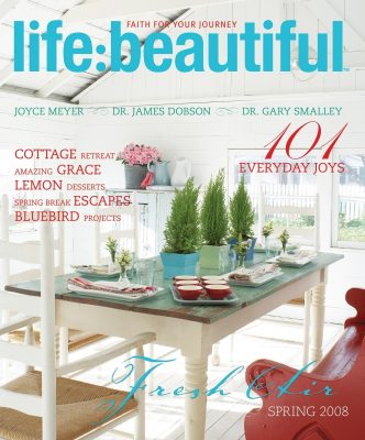 Cover of Life:Beautiful magazine Spring 2008