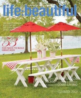Cover of Life:Beautiful magazine Summer 2009
