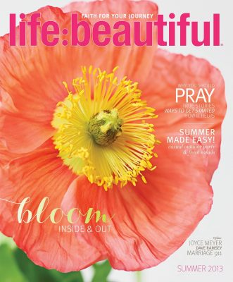 Cover of Life:Beautiful magazine Summer 2013
