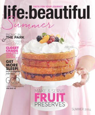 Cover of Life:Beautiful magazine Summer 2014