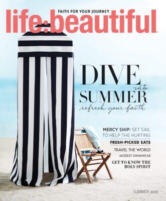 Cover of Life:Beautiful magazine Summer 2016