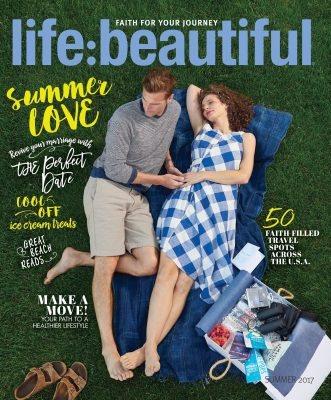 Life:Beautiful Magazine cover Summer 2017