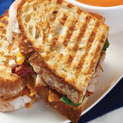 signature panini sandwiches