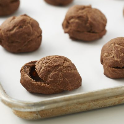 Basic Chocolate Cream Puff Shells can be used in a number of ways.