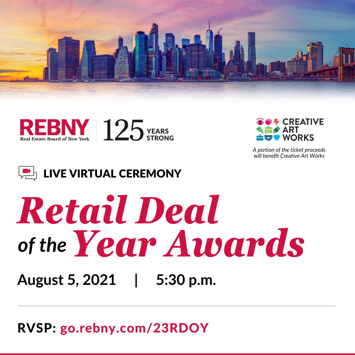 23rd Annual Retail Deal of the Year Virtual Awards Ceremony