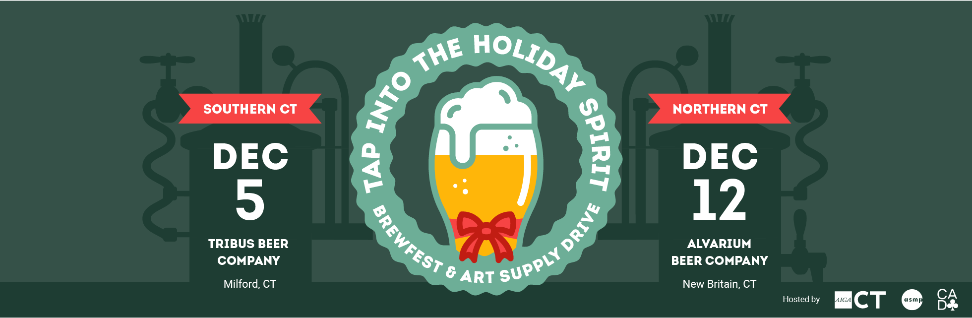 Holiday Party 2019, December 5 and 12