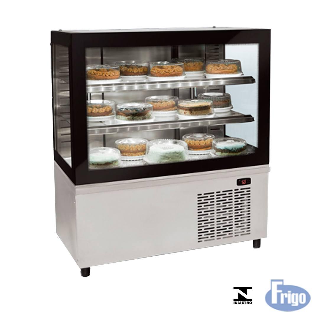 Balcão Refrigerado Expositor de 100 cm Black Box 220V Conservex