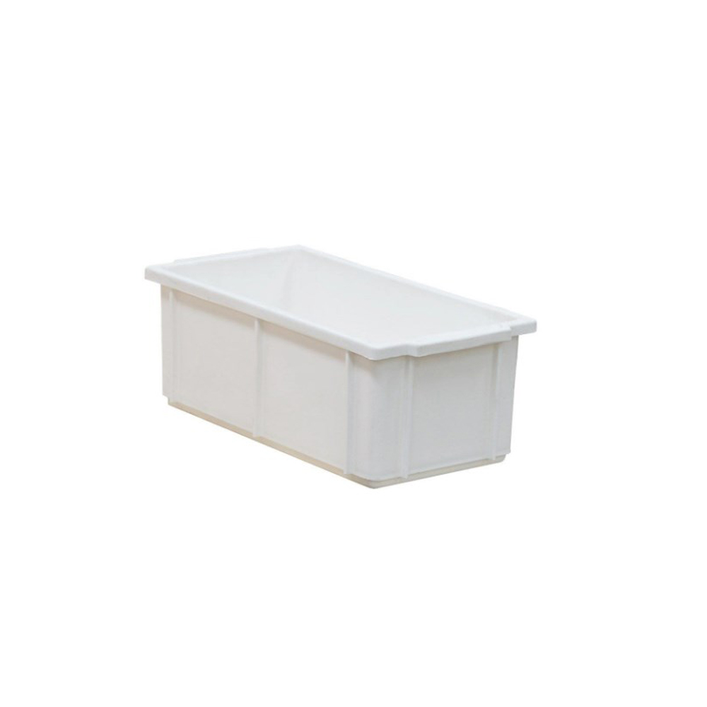 Caixa Retangular Plástica Branca 32x16x12 cm 4,2 Litros DTR