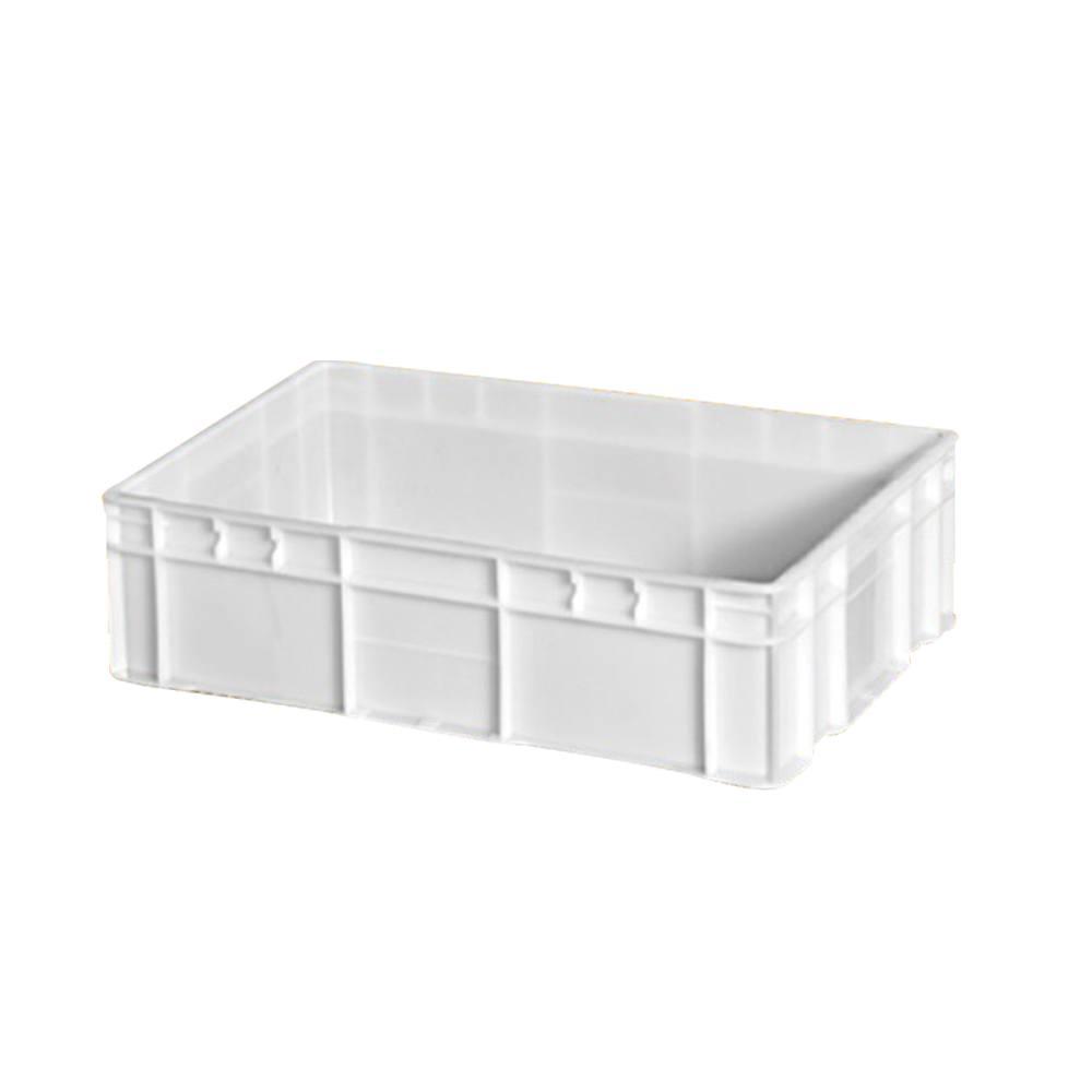 Caixa Retangular Plástica Branca 43 60x40x15 cm 26 Litros DTR