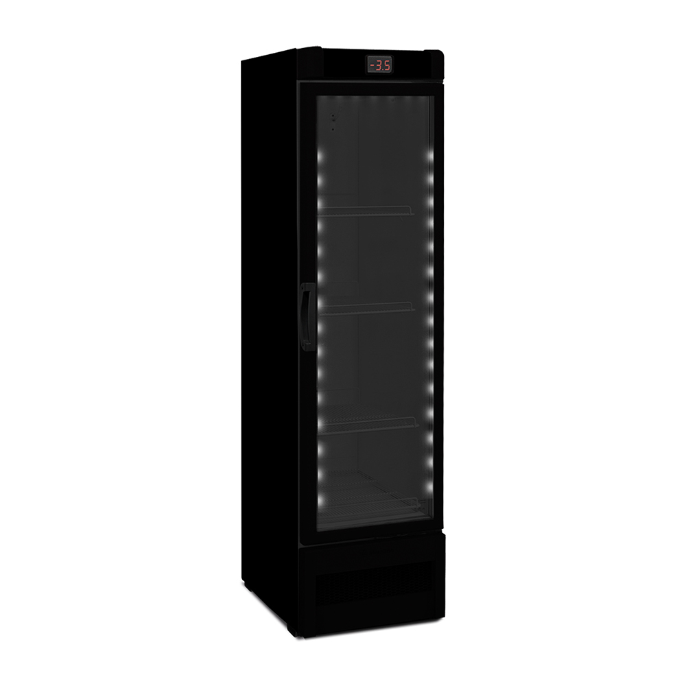Cervejeira Metalfrio All Black Expositora 324 Litros VN28RHDD