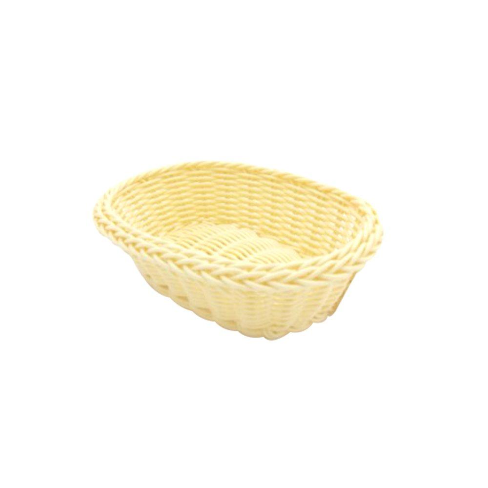 Cesta Oval de Plástico 20x16 cm Frigopro