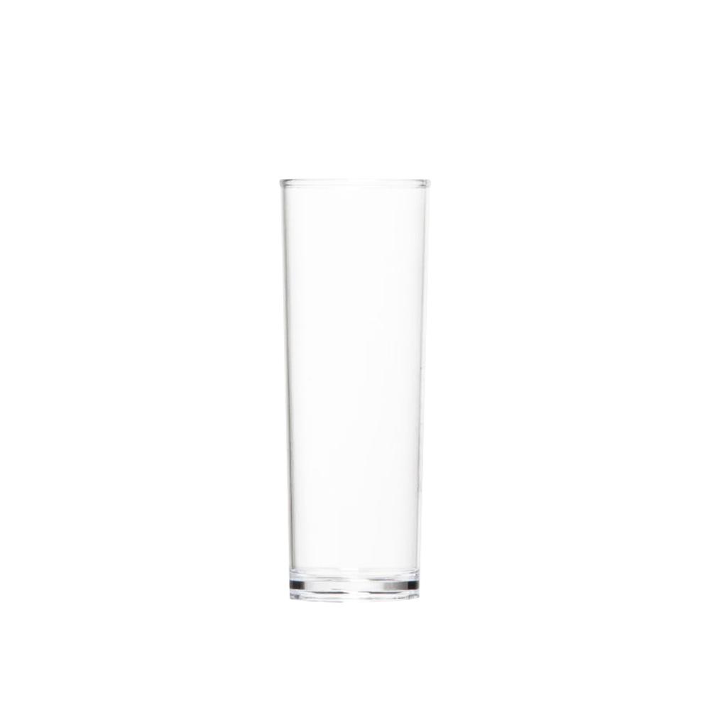 Copo Long Drink Slim de Policarbonato 300ml Vemplast