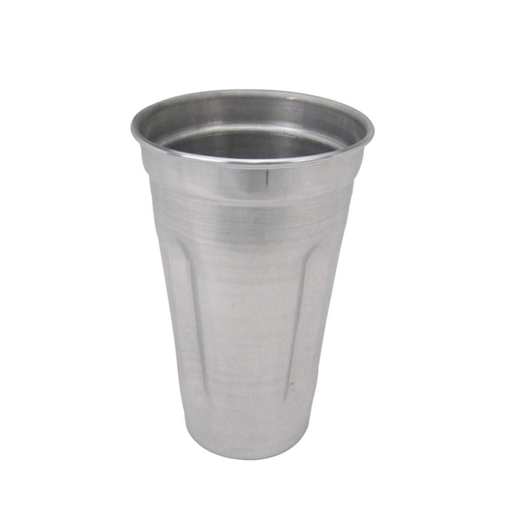 Copo Milk Shake de Alumínio Mixer Profissional Doupan