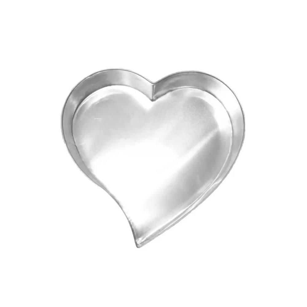 Forma De Bolo Coração Grande 33 X 7 Cm Doupan