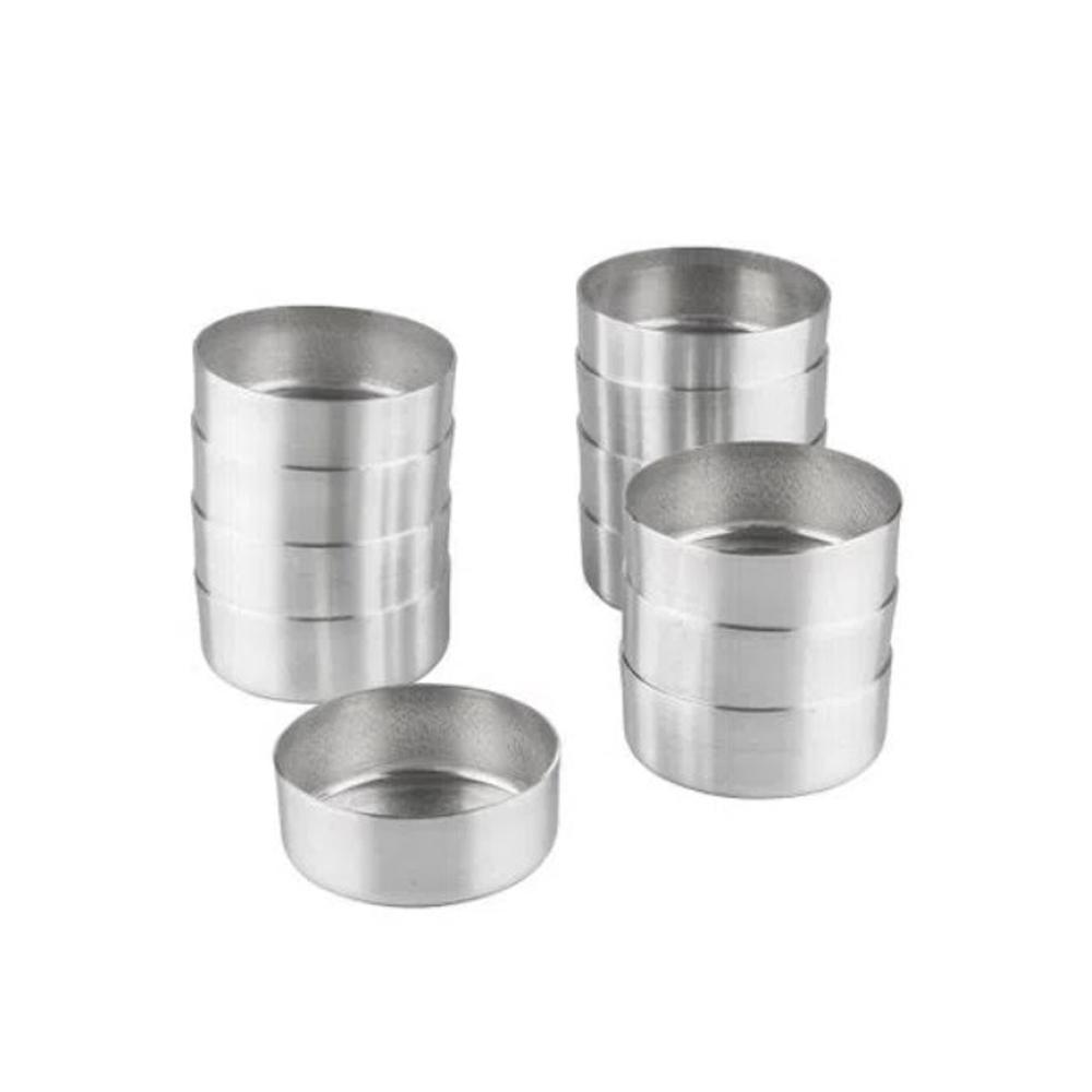 Forma Pão De Mel N°3 s/Cordão C/12 Peças Alumínio Doupan