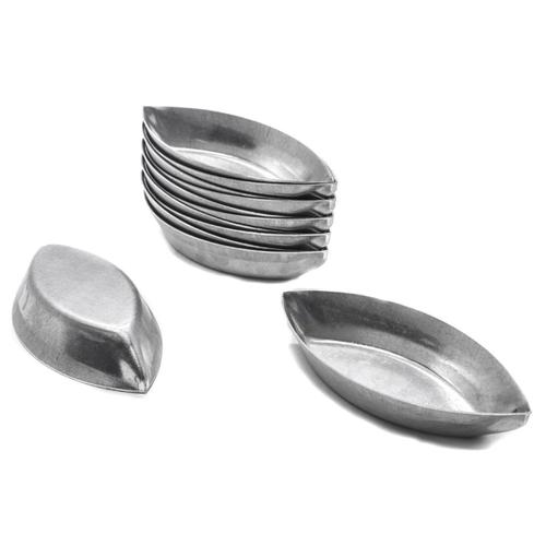 Forminha Barquinha em Alumínio com 12 Peças Doupan