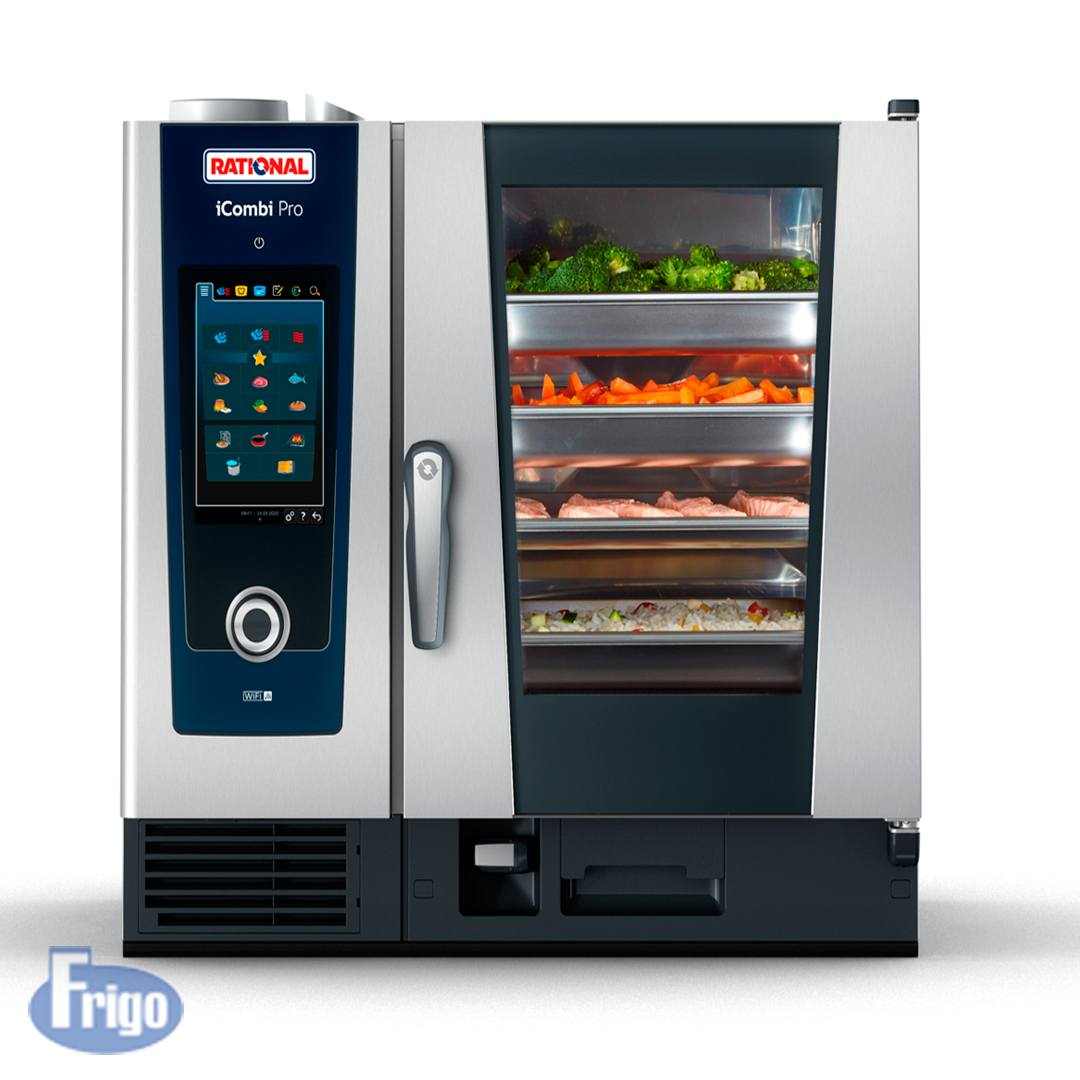 Forno Combinado Rational 6 GNs Icombi Pro Gás GN