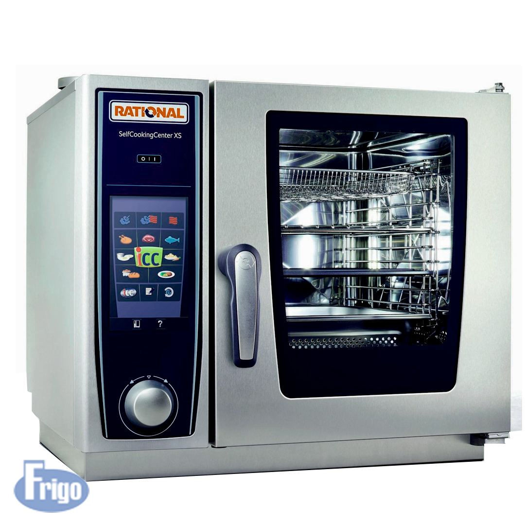 Forno Combinado Rational Self Cooking Center XS 6 GNs Elétrico 220V Mono
