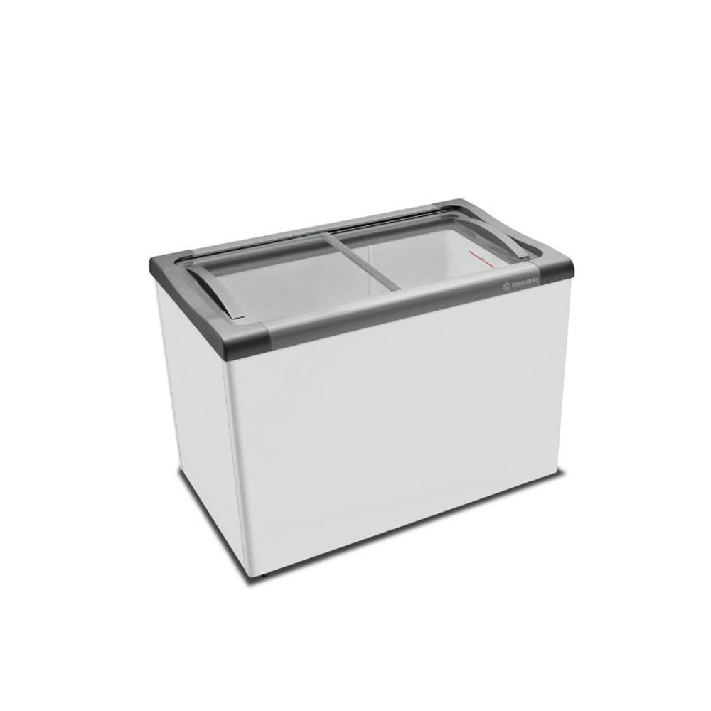 Freezer Horizontal Tampa de Vidro 284 Litros NF30 220v Metalfrio