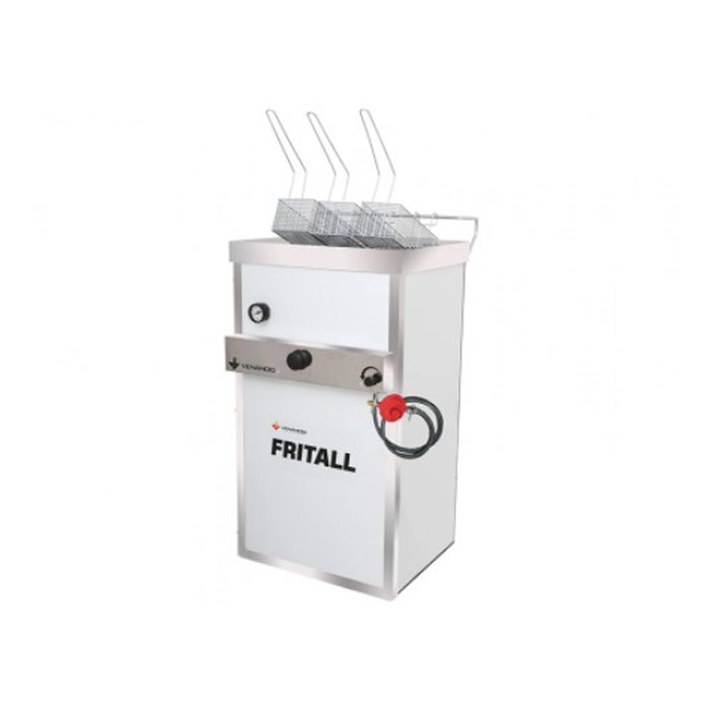 Fritadeira Industrial À Gás Venâncio Faoap30 Prata