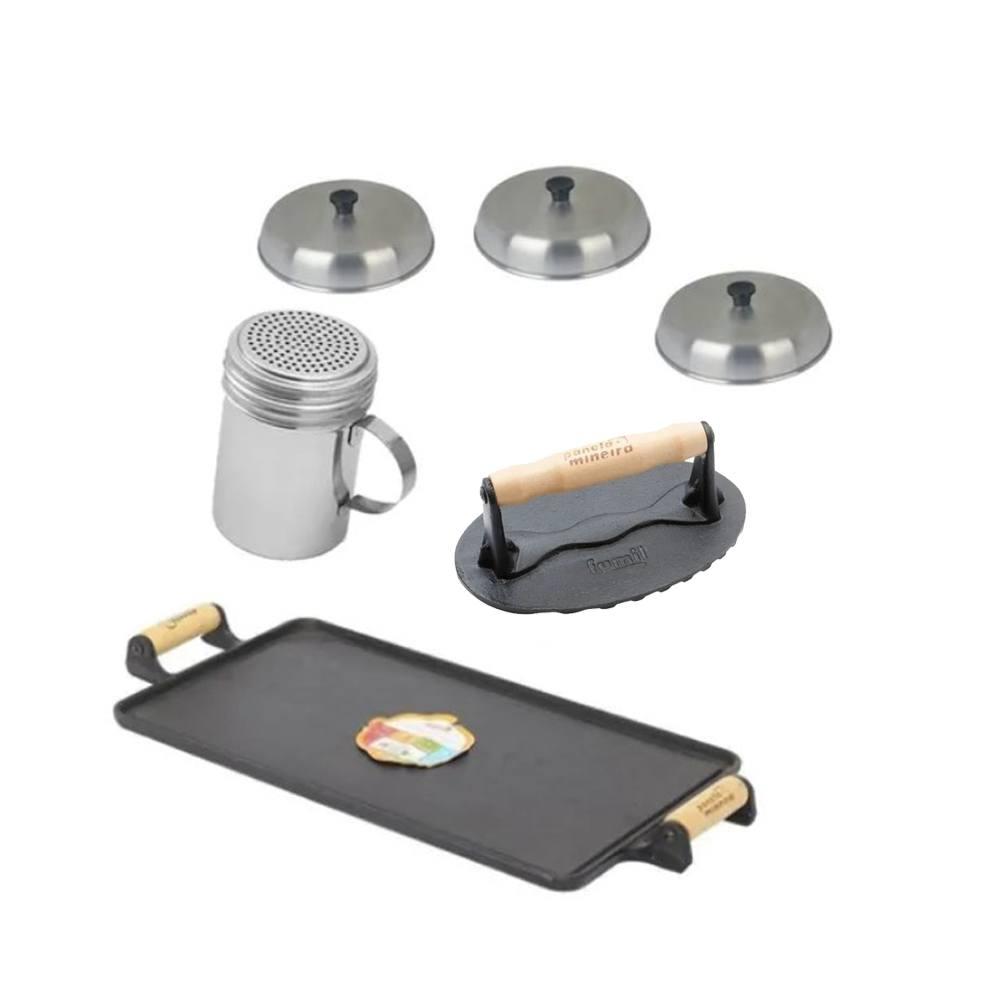 Kit Hamburguer Artesanal Caseiro Premium