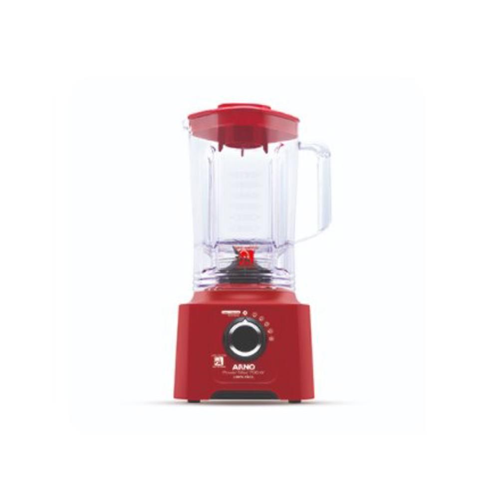Liquidificador Arno Power Max 700w Limpa Fácil Vermelho 220v