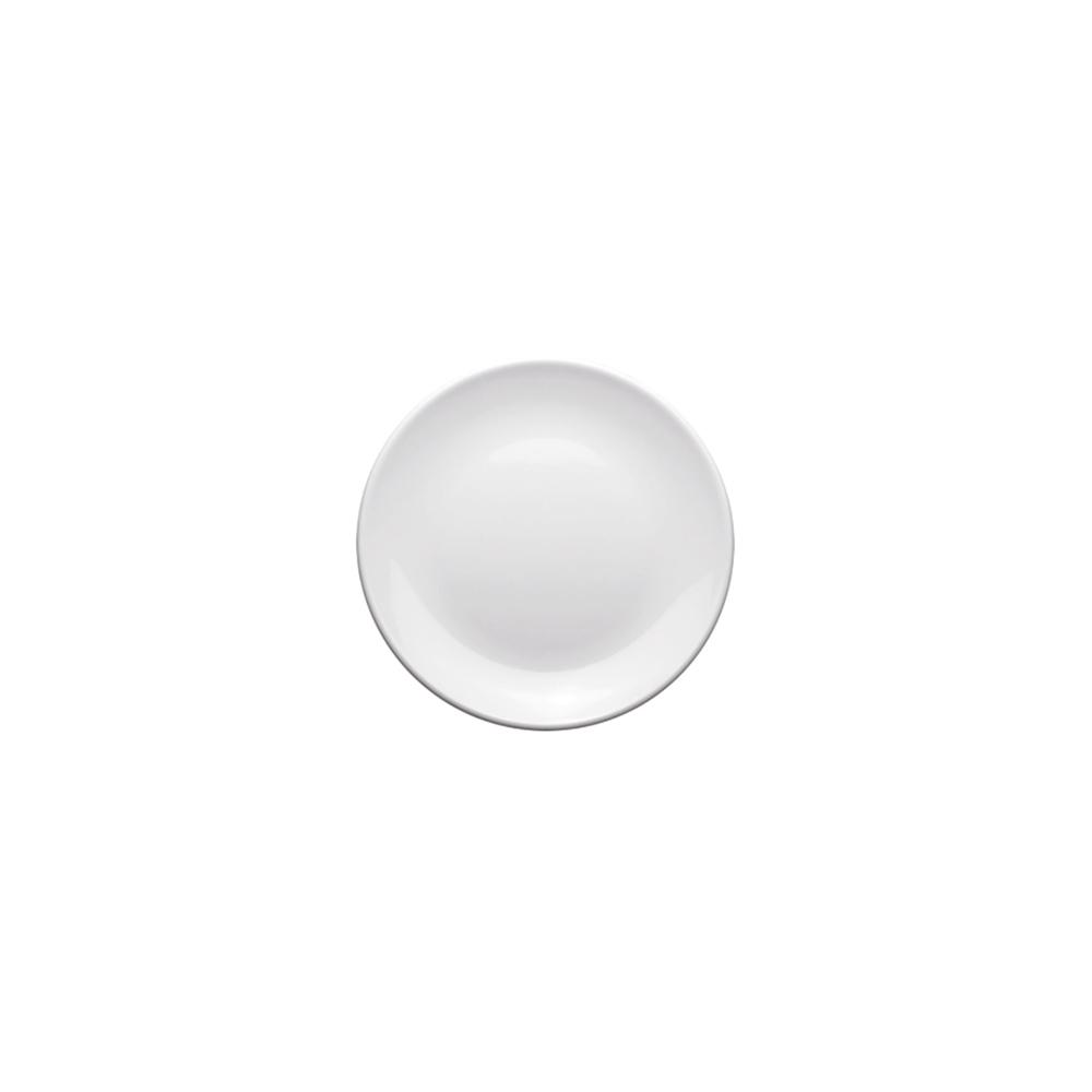 Prato Melamina Branco 15cm  12 Pçs Frigopro