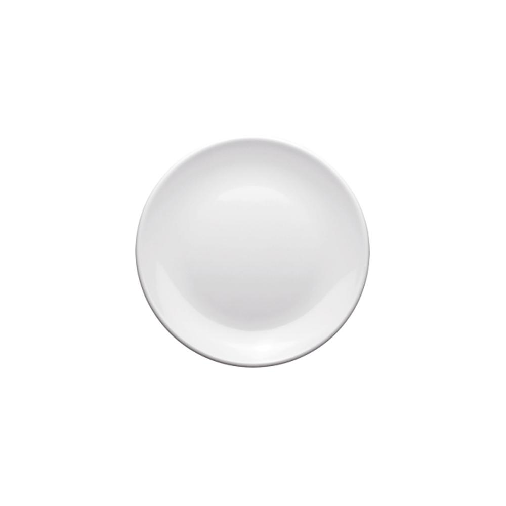 Prato Melamina Branco 25cm 12 Pçs Frigopro