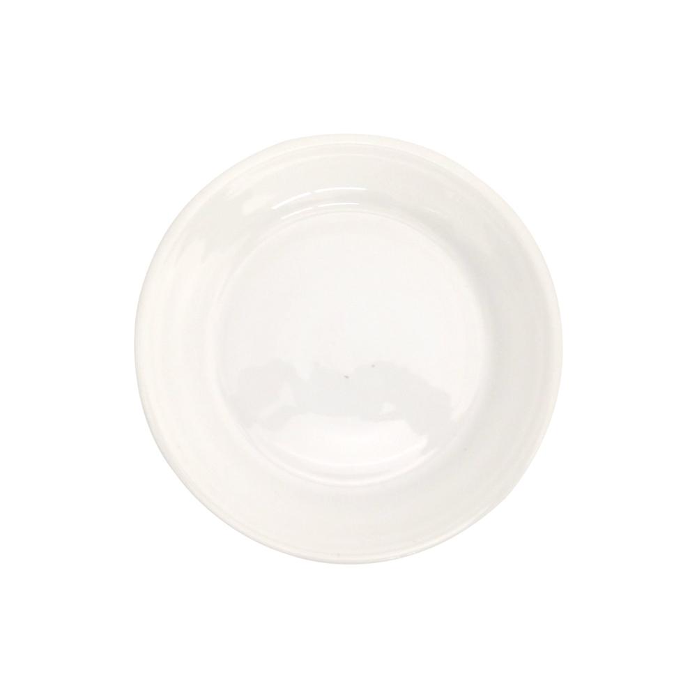 Prato Melamina Branco 26,5 cm 12 Pçs Frigopro