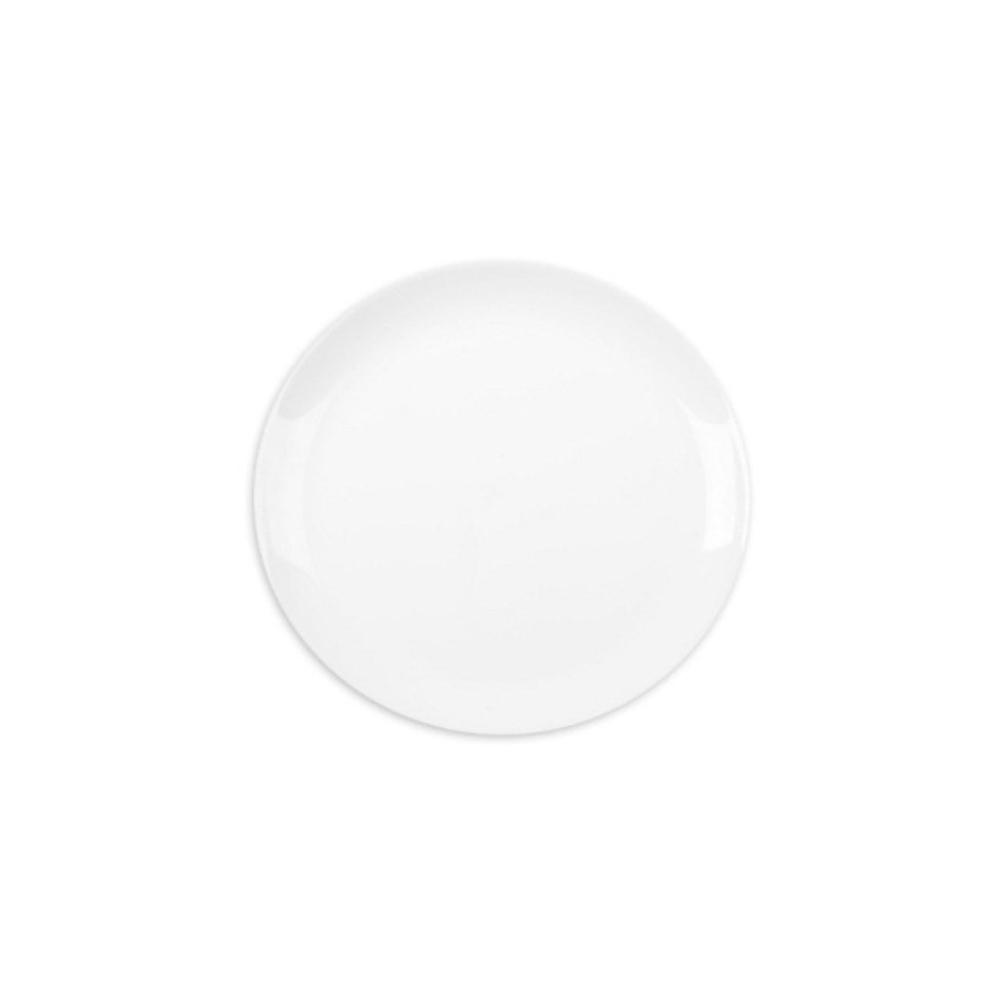 Prato Raso Opaline Blanc 27 cm Branco 12 pçs Nadir Figueiredo 5545