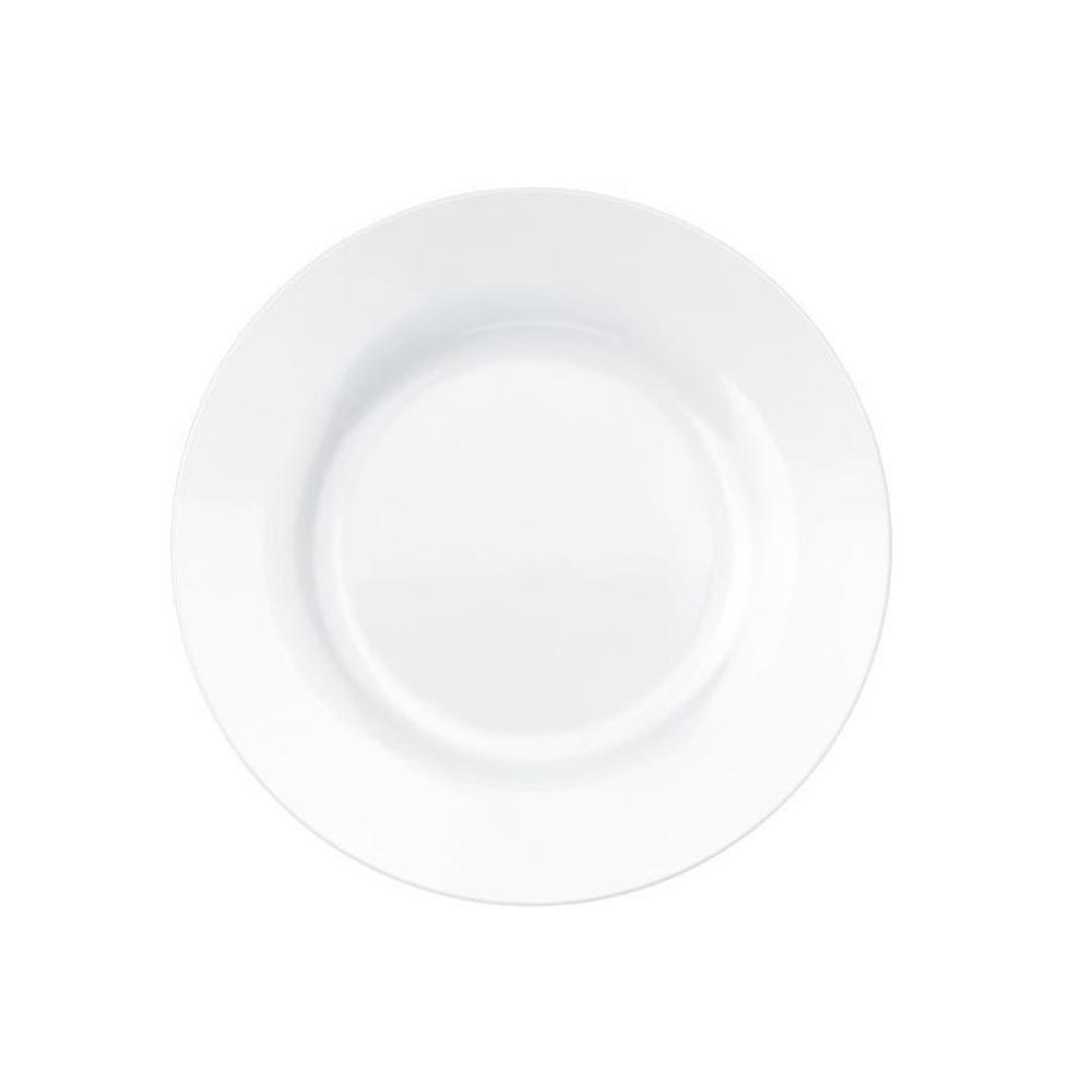 Prato Sobremesa Branco Menu 19cm Nadir 24 pçs