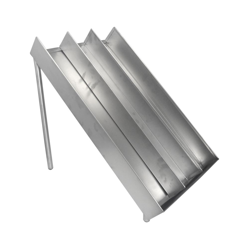 Rampa Escorregadora de Hamburgueres Pronto Em Aço Inox Frigopro