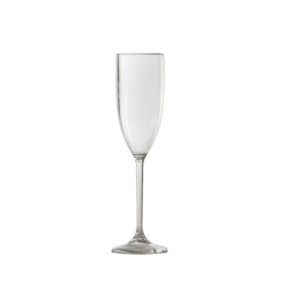 Taça Champagne em Policarbonato 150ml Vemplast