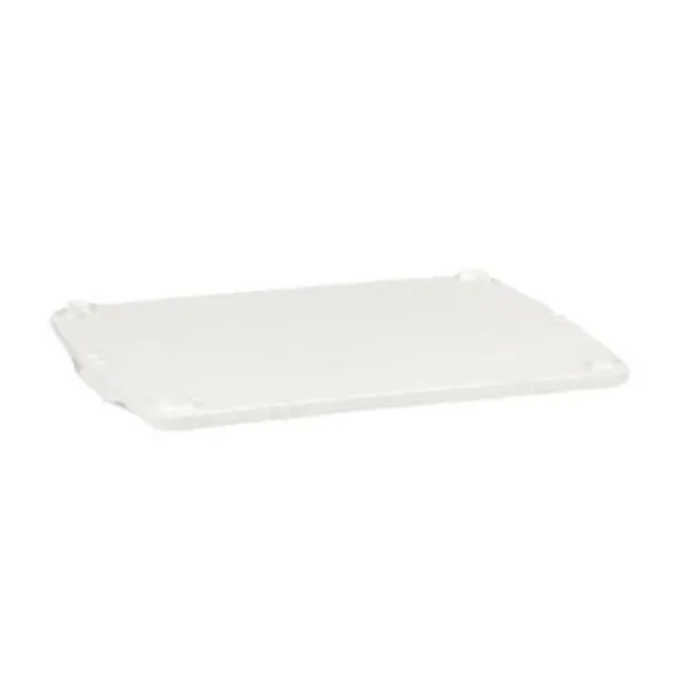 Tampa Para Caixa Retangular Plástica Branca 26 Litros Dtr